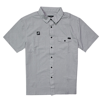 Billabong Surf Trek SS Shirt - Alloy Heather