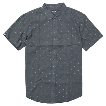 Billabong SS All Day Jacquard Shirt - Black