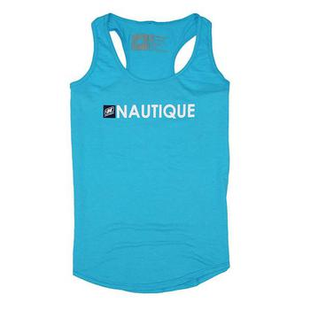 Ladies Core Triblend Tank - Caribbean Blue