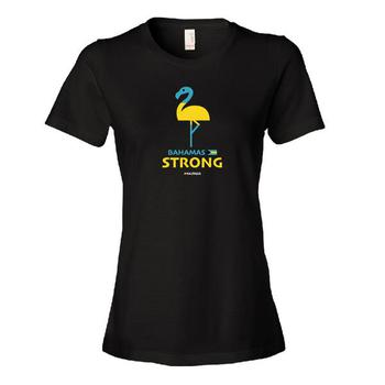 Ladies Bahamas Relief Tee - Black
