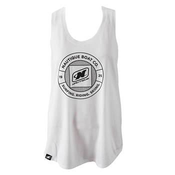 Ladies Arc Tank - White
