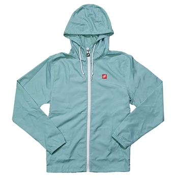 Women's Helix Full-Zip Windbreaker - Aqua