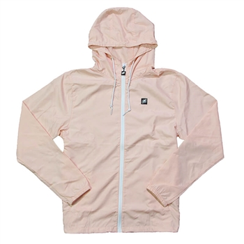 Women's Helix Full-Zip Windbreaker - Blush Pink