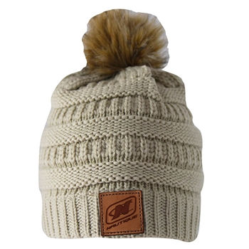 Women's Cable Beanie - Ivory