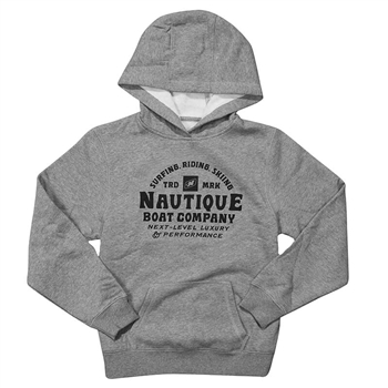 YOUTH Next Level Hoodie - Vintage Heather Grey