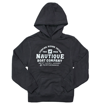 YOUTH Next Level Hoodie - Black