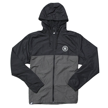 Helix Full-Zip Windbreaker - Black / Graphite