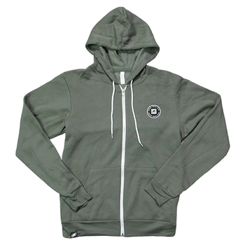 Dockside Full-Zip Hoodie - Army Green