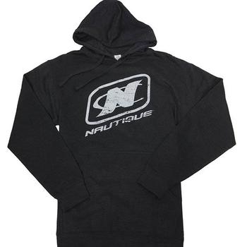 Stacked Hoodie - Charcoal Heather