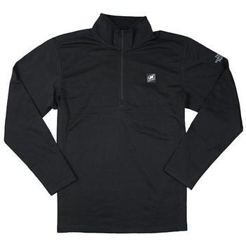 Men's North Face 1/4 Zip Tech Fleece - Black