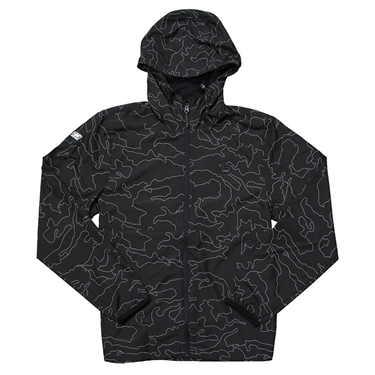 Billabong Transport Windbreaker - Black Camo