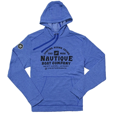 Next Level Hoodie - Heather Royal
