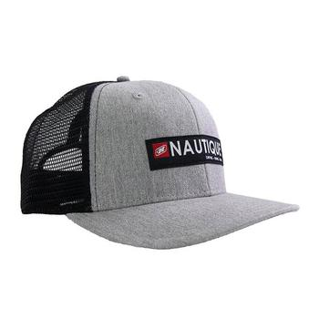 Nautique Crate Cap - Grey Heather / Black