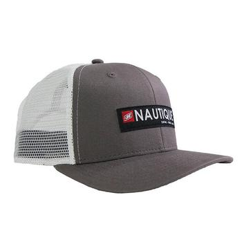 Nautique Crate Cap - Charcoal / White
