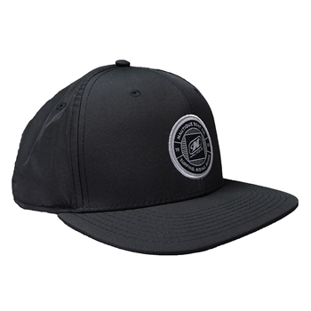 Nylon Performance Cap - Black