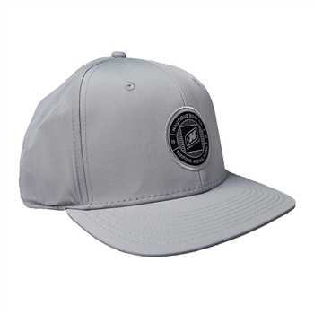 Nylon Performance Cap - Steel Grey