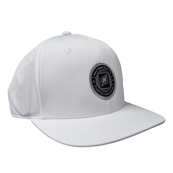 Nylon Performance Cap - White