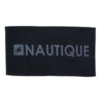 Signature Beach Towel - Black