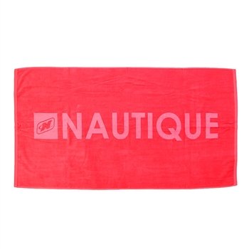 Signature Beach Towel - Red