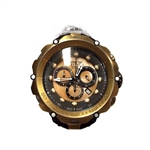 Invicta Men's 18452 Venom Quartz Chronograph Grey and Gold Dial Watch