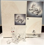Swarovski Fabulous Creatures 1997 Annual Dragon Model 208398
