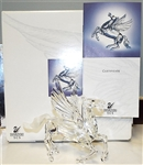 Swarovski Fabulous Creatures 1998 Pegasus Model 216327 Limited Edition