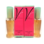 Gloria Vanderbilt V by Vanderbilt Eau De Toilette Spray 0.5 oz 2 Pack