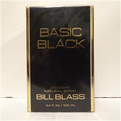 Bill Blass Basic Black Cologne Spray 3.4 oz