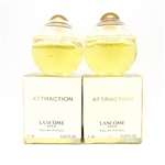 Lancome Attraction for Women Eau De Parfum Mini .23 oz 2 Pack