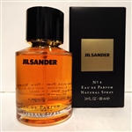 Jil Sander No 4 Eau De Parfum Spray 3.4 oz Original Formula