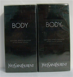 YSL Yves Saint Laurent Kouros Body Cologne After Shave Lotion 1.6oz 2 pack