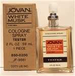 Jovan White Musk for Men Cologne 2 oz