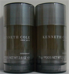 Kenneth Cole New York Cologne Deodorant 2.6oz 2 Pieces