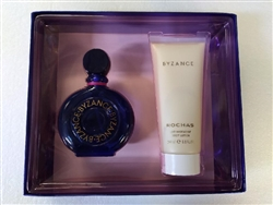 Byzance By Rochas Eau De Toilette Spray 3.4 oz 2 Piece Set