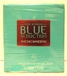 Antonio Banderas Blue Seduction Eau De Toilette Spray 1 oz