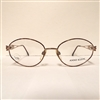 Anne Klein 2004 Eyeglasses Brown Marble