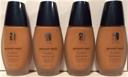 Avon Personal Match Matte Foundation Buff Clair 1oz 4 Pack
