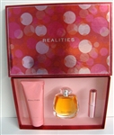 Realities by Liz Claiborne Eau De Parfum Spray 3.4 oz 3 Piece Set