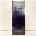 Davidoff Cool Water Woman Night Drive Eau De Toilette Spray 2.7 oz