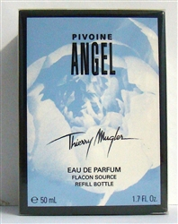 Angel Pivoine By Thierry Mugler Eau De Parfum Spray Refill Bottle 1.7 oz