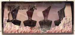 Angel Jardin D'etoiles By Thierry Mugler Eau De Parfum .17 oz 4 Piece Set