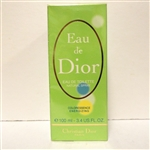 Eau De Dior By Christian Dior Coloressence Energizing Eau De Toilette Spray 3.4 oz