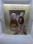 French Vanilla By Parfums Parquet Eau De Toilette Spray 1.67oz 2 Pc Set