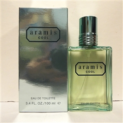 Aramis Cool Cologne for Men 3.4oz Eau De Toilette Spray