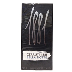 Cerruti 1881 Bella Notte For Men Eau De Toilette Spray 4.2 oz