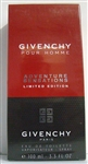 Givenchy Adventure Sensations Cologne 3.3oz Limited Edition