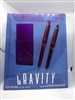 Gravity By Coty Cologne Spray 1 oz 3 Piece Set
