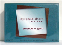 Apparition Homme By Emanuel Ungaro Eau De Toilette Spray 3.4 oz