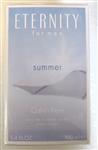 Calvin Klein Eternity Summer 2014 For Men Eau De Toilette Spray 3.4 oz