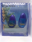 Club Med My Ocean For Him Eau De Toilette Spray 1 oz 2 Piece Set
